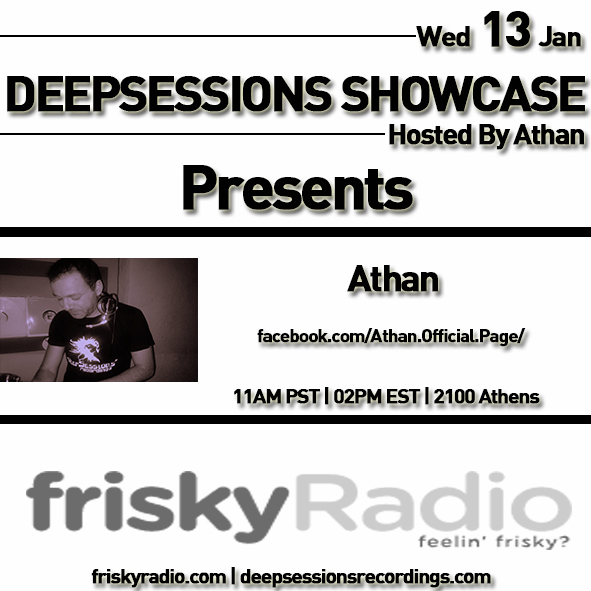 Deepsessions – January 2016 @ Friskyradio