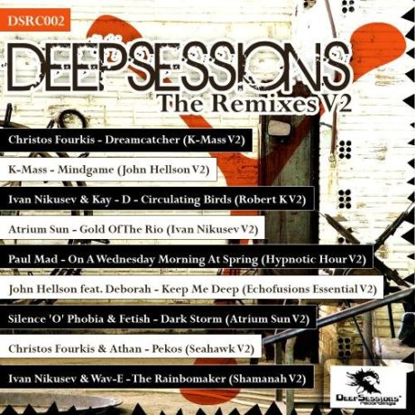 DSRC002 V.A Deepsessions – The Remixes V2