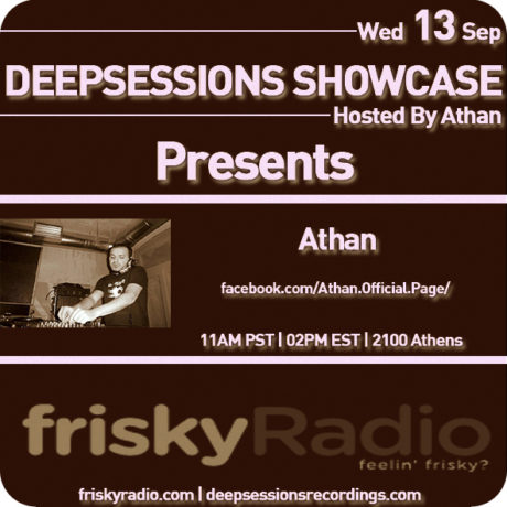 Deepsessions – September 2017 @ Friskyradio